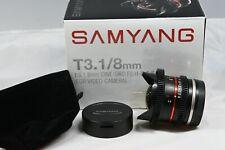 Samyang 8mm t3.1 vdslr UMC fish-Eye II [Sony e]
