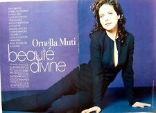 *ORNELLA MUTI => 4 pages French 1997 CLIPPING / COUPURE DE PRESSE / RITAGLIO