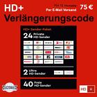 HD+ Verlängerung 12 Monate für alle HD Plus Karten HD01/02/03/04/05 geeignet <br/> Versand des Verlängerungscode erfolgt per Email