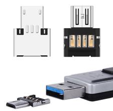 5X Micro USB B tipo OTG adaptador macho a USB hembra A tipo 2.0 host varilla