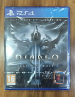 PS4 DIABLO Reaper of souls Brand NEW FACTORY Sealed PLAYSTATION 2014