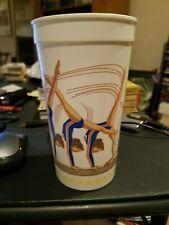 VINTAGE 1988 OLYMPICS MCDONALD'S COMMEMORATIVE WOMEN'S GYMNASTICS PLASTIC CUP