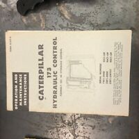 CAT CATERPILLAR HYDRAULIC CONTROLS SERVICE MANUAL 173   D9 D8D D7 D6