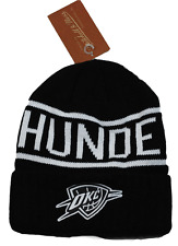 f86b33ee98b Oklahoma City Thunder M Ness KT58Z NBA Team Logo Knit Basketball Hat Beanie