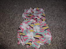 BABY GAP 12-18 DVF FLORAL ROMPER OUTFIT