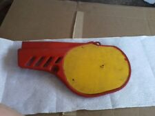 Honda CR80R / CR 80 R / CR80 - Left Cover Sub Assembly / Side Cover - Flash Red