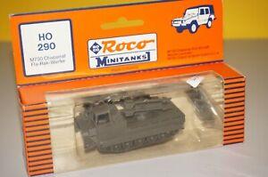 RF8/B2/23] Roco Mini Tank US 7.99in Tank Howitzer M55 No.157 1/87 Boxed