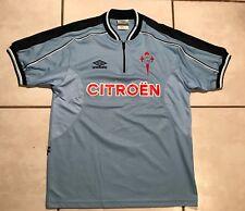 Rare Vintage UMBRO Celta Vigo 1999-2001 Jersey Men's Large