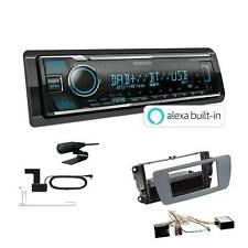 Kenwood Radio DAB Bluetooth für Seat Ibiza IV Ibiza IV ST conemaragrau Canbus