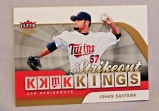 2006 Fleer Ultra Strikeout Kings #SOK2 Johan Santana Twins Baseball Card