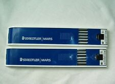 Staedtler Mars Lumograph for ink Drafting Drawing Leads minen HB set 2 pc