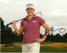 Lpga Brittany Lang Autographed Signed 8x10 Photo Coa 2