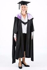 University Academic Hood Graduation Masters Fully Lined with Lilac