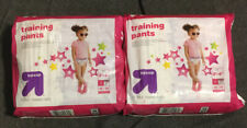 Lot Of 2 Up&Up Brand Toddler Training Pants 3t-4t Total 46ct