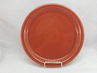 Fiestaware Paprika Buffet Plate Retired Fiesta Burnt Orange 9 inch plate