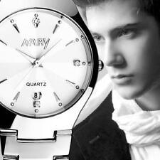 Luxury Fashion Men's Watches Bracelet Analog Stainless Steel Quartz Wrist Watch