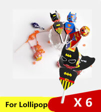 Batman Superhero Gift Party Bag filler Loot Birthday party for Lollipop