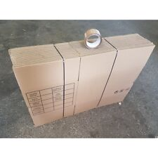 Kit déménagement 1 - 20 cartons avec impression et 1 adhésif offert