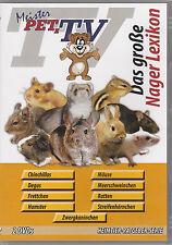 Das große Nager Lexikon - Meister PETz TV *DVD*NEU* Chinchillas - Zwergkanichen