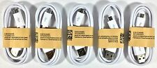 5 Premium Micro USB Sync Charger Cable Cord for Android Smart Phone
