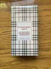 Burberry Brit Perfume For Women 1.7 Oz / 50 Ml Edt Spray New In Sealed Box