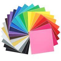 Oracal 631 Matte Vinyl Bundle 12 x 12 - 24 Assorted Colors