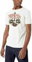 Lucky Brand Mens T-Shirt Light Beige Size 2XL Nashville Graphic Tee $29- #303