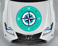 Mandala Car Sticker Car Rear Window Boho Sticker Graphics Decals Color EM2