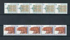 """Federale n. 1468-1469ri ** 45+70pfg. ruoli - 5er-strisce""""! 1270+350"""" (131608)"""