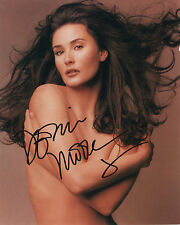 DEMI MOORE Signed Original Autographed 8x10 Photo COA