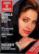 JOURS DE FRANCE N°1680 ornella muti hassan II kim basinger