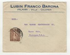 correos del Ecuador Equateur timbre aérien sur lettre ancienne / B5A2