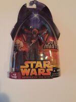 Star Wars   Revenge of the Sith Hasbro   Plo Koon Action Figure #16 New