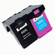 2 PK Combo Ink Cartridges for HP 63XL  ENVY 4512 4516 OfficeJet 4652 4655