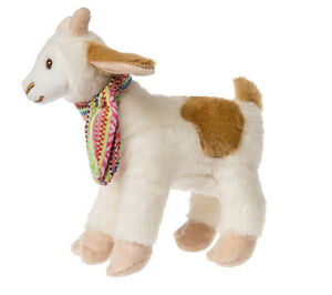 """Mary Meyer Gabby Goat Plush Toy - Cream and Brown Goat, 6"""""""