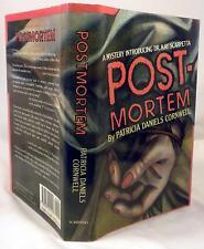 POSTMORTEM, Patricia Cornwell, SIGNED/Dated 1989, Association copy, 1st/1st