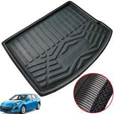 Rear Cargo Liner Trunk Tray Boot Floor Mat For Mazda 3 BL Hatchback 2010-2013