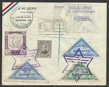 PARAGUAY 1932 (21 Sept) Graf Zeppelin flight cover - 2084