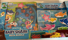 Pinkfong Baby Shark Mega Bundle with Puzzles and Games for Kids