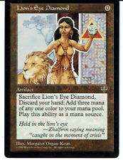 MAGIC THE GATHERING, MTG MIRAGE LION'S EYE DIAMOND ex-nm