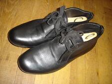 PRADA Chaussures de ville hommes noir taille 41 taille grand convient 42 Ref:N12