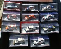 voitures de rallye un lot de 13 voitures port offert 1/43 neuves en boites