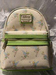 NWT Loungefly Modern Pinup Exclusive Tinkerbell AOP Mini Backpack