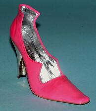 "Just the Right Shoe, Raine, ""Scandalous"" mixed media miniature # 25316 Coa Nib"