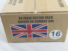 Menue #16 GB ARMY 24 Hour Combat Ration MRE EPA SURVIVAL Notration Verpflegung