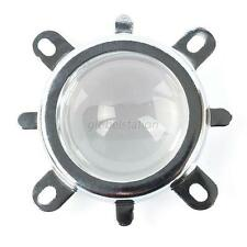 New 44mm Lens + 50mm Reflector Collimator Base + Fixed Bbracket For 10W-100W LED
