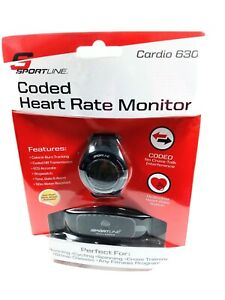 Sportline Cardio 630 Coded Heart Rate Monitor Anti-Theft Store Sensor Activated