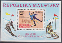 PP474 - MADAGASCAR MALAGASY  STAMPS 1976 WINTER OLYMPICS MNH