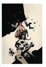 HELLBOY Mike Mignola Signed / Numbered High Quality Glide Art Print 65/200 2012
