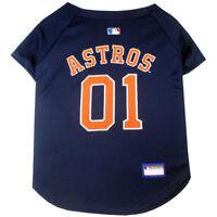 Houston Astros MLB Pets First Officially Licensed Dog Jersey, Navy